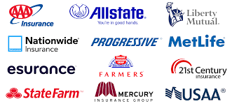 list of car insurance companies in
