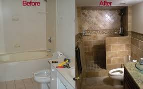 Small Picture Bathroom Remodel Before And After Home Interior Design Ideas 2017
