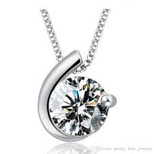 whole woman silver necklaces crystal jewelry circle diamond pendant statement necklaces wedding vintage charms necklaces owl pendant necklace silver
