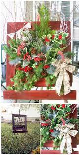 Christmas Window Box Decorations 100 Rustic Farmhouse Inspired DIY Christmas Decoration Ideas For 74