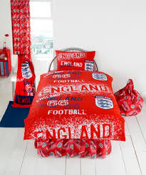 england red football rotary single duvet more info