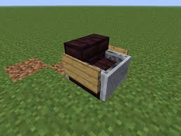 how to make a chair in minecraft. Usable Chair Without Mods! How To Make A In Minecraft