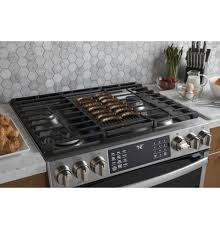 gas cooktop with grill. Extra-large Integrated Reversible Cast Iron Grill/griddle Gas Cooktop With Grill