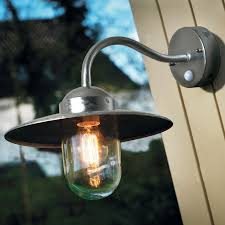 nordlux luxembourg pir sensor outdoor wall light ip54 rated wall mounted lights exterior lighting