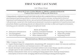 Medical Office Administration Duties Sample Resume For Medical Office Manager Medical Office Manager