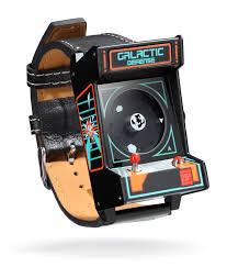 classic arcade wristwatch thinkgeek classic arcade wristwatch