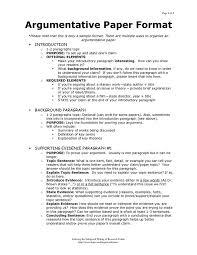 written essay format com written essay format 11 outline of argumentative sample google search
