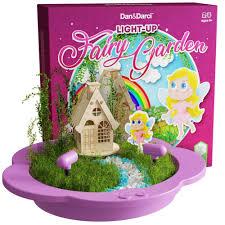 details about fairy garden house kit create plant grow magical enchanted miniature world girl
