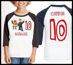Roblox Custom Clothes Roblox Shirt With Name Custom Avatar Shirt Custom Roblox Avatar Shirt Roblox Birthday Shirt