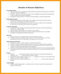 Accountant Objective For Resume Best Of Accounting Resume Skills Objective For Accountant And Abilities R