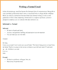 Formal Business Email Template Format Example How To Use