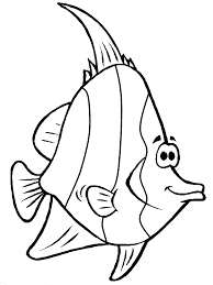 Printable Coloring Pages color pages of fish : Fish Coloring Pages