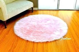 light pink fur rug pink faux fur area rug pink nursery rug baby pink luxury faux