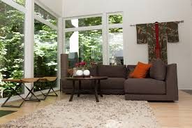 crate and barrel living room ideas. Crate And Barrel Living Room Ideas Contemporary With Large Windows Orange