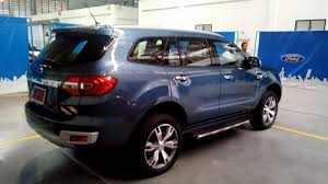 new car 2016 thai2016 Ford Everest with 32L diesel engine spied