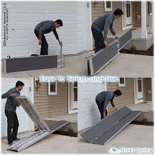 portable scooter ramp from ramps is perfect for wheelchair or power chair access over stairs