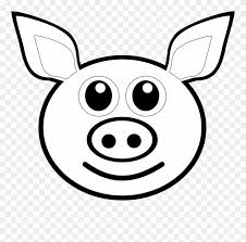 cartoon pig coloring pages picture ideas 6tp6kdokc draw a pig head clipart
