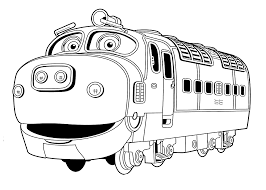 Chuggington Coloring Pages Brewster For Kids