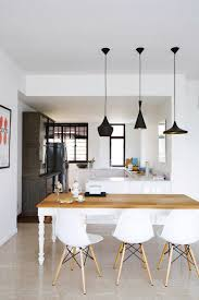 10 perfect pairings pendant lamps and dining tables