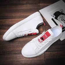 <b>Spring Men's</b> Shoes <b>Tide</b> Shoes White Fashion Korean <b>Men's</b> ...