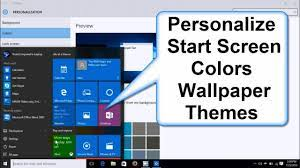 How to Change Windows 10 Start Screen ...