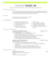 Graduate Nurse Resume New Grad Nursing Sample Objectives Samples Magnificent New Grad Nursing Skills Resume