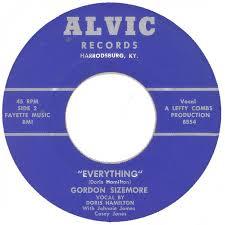 45cat - Gordon Sizemore - Waddlin Mama / Everything - Alvic - USA
