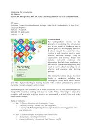 Pearson Learning Design Principles Pdf Marketing An Introduction 13 Th Edition