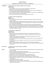 Creative Director Resume Sample Group Creative Director Resume Samples Velvet Jobs 5