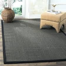 small sisal rug navy bordered sisal rug casual natural fiber charcoal and charcoal border sisal rug