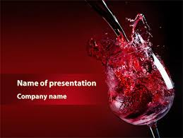 Wine Powerpoint Template Fantastic Red Wine Powerpoint Template Backgrounds 09503