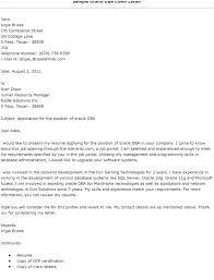 Oracle Dba Cv Sample Oracle Dba Resume Simple Resume Format