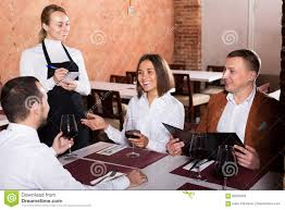 restaurant waiter taking order. Beautiful Restaurant Download Waitress Taking Order In Restaurant Stock Image  Of Female  Cuisine 86256503 Intended Waiter Dreamstimecom