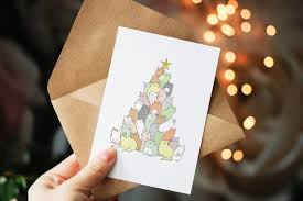 9 adorable (and funny!) cat Christmas cards to send your cat loving pals |  HelloGiggles
