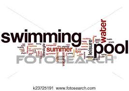 Pool Word Clipart Of Swimming Pool Word Cloud K23725191 Search Clip Art