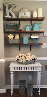 Rustic Kitchen Shelving 1000 Ideas About Kitchen Shelf Decor On Pinterest Organizing