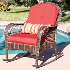 fascinating best choice s wicker rocking chair patio porch deck all weather