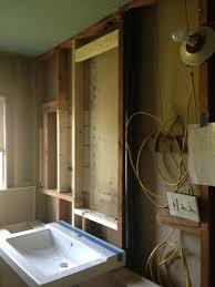 Medicine Cabinet Frame Framing Out Above Sink Medicine Cabinet Insert Rockandnest Rock
