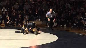 132: James Knoeller (Southern) d. Anthony Gagliano (Howell) 4-3 - YouTube
