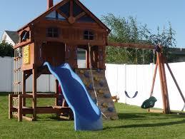 Playground For Backyard Backyard Playgrounds Sets The Latest