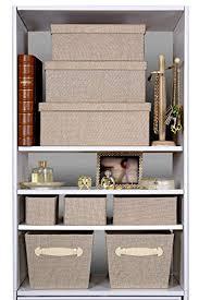 Decorative Storage Boxes For Shelves Creative Scents Storage Box Set 100Pcs Sand Dunes Decorative 2