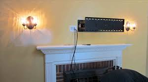 decorating wall mount tv wiring cents wall mounted tv and hiding the cords household installing