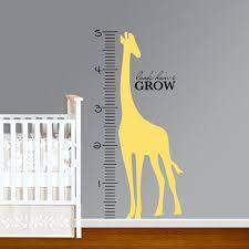 Growth Chart Decal For Walls Bedowntowndaytona Com