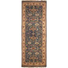 artistic weavers rochester blue 3 ft x 10 ft runner rug