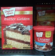 Duncan Hines Classic Cake Mix Butter Golden 1525oz Box For Sale