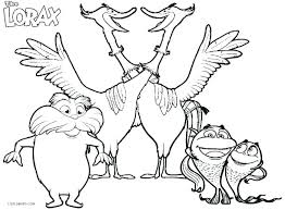 Printable Coloring Pages For Kids The Lorax Coloring Page Unless