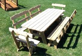 wood picnic table plans brilliant ideas picnic table plans detached benches awesome wood free round wooden picnic table plans