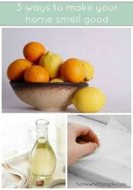 how to make your home smell good smell goodcleaning