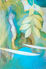 morning flow painting by brad huck available on wet paint nyc hawaiian art eco friendly prints on canvas