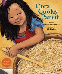 blog page of behind the book cora cooks pancit